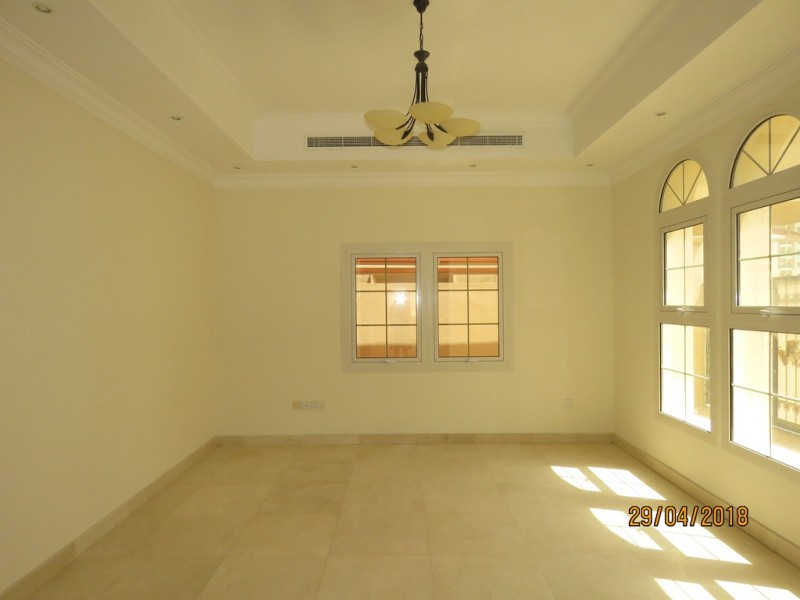 Lovely 5 Bedroom with Maids' Villa at Al Barsha-4 Cheques