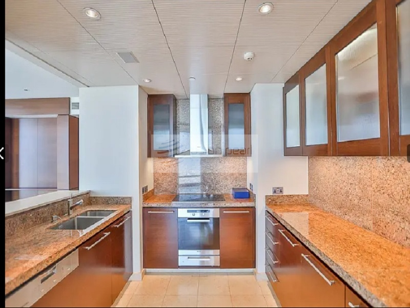 High Floor 1BR | Partial Fountain and Opera View