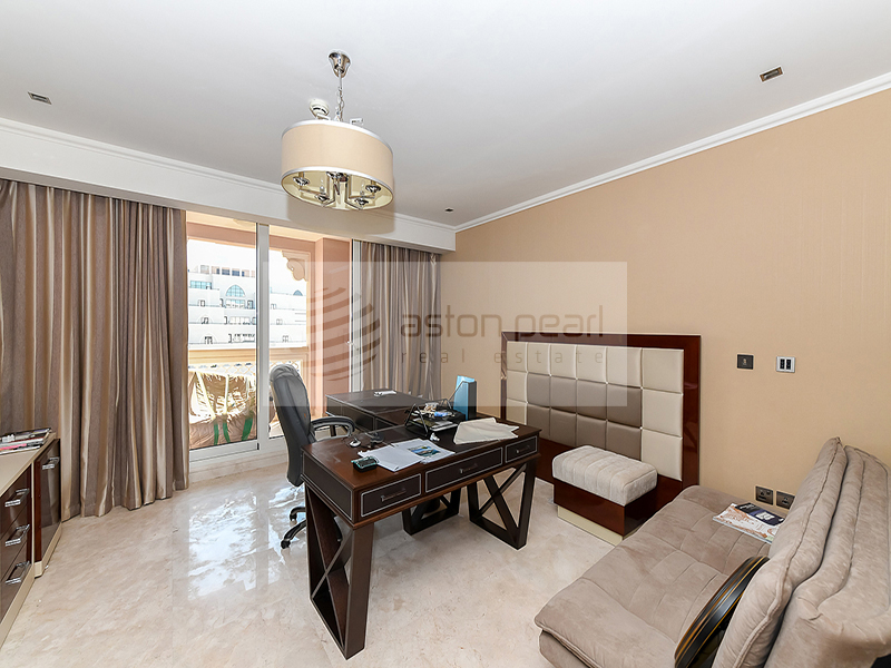 Fully Furnished 3B+M|Sea View| Exclusive