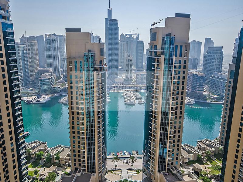 Unique 2BR | Big Windows with Marina View | RIMAL