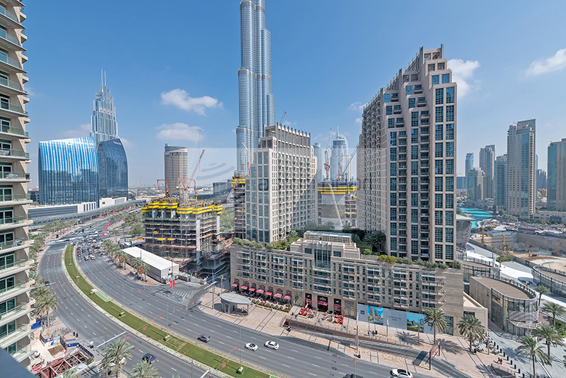 Vacant Ready 2-BR with Burj Khalifa View