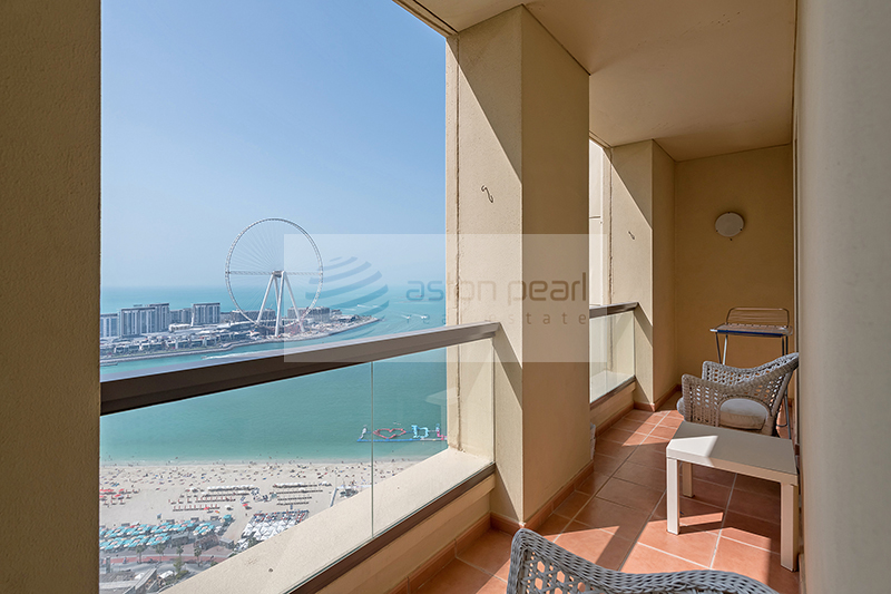 Amazing Sea View | Lovely 3BR | High Floor | RIMAL