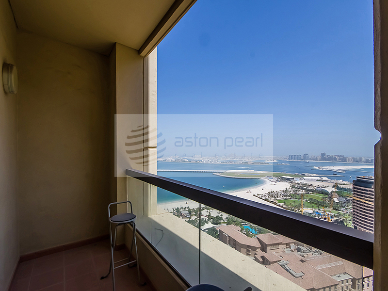 Panoramic Sea View |Unique 1BR | SADAF 7