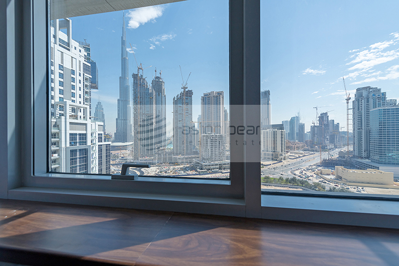 Exclusive | 2BR High Floor | Burj Khalifa View