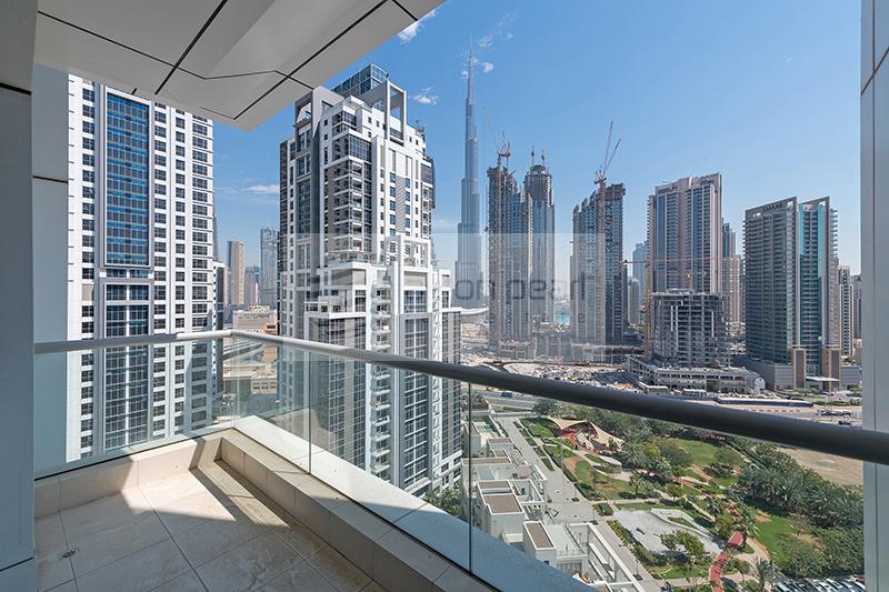 Exclusive   2BR High Floor   Burj Khalifa View