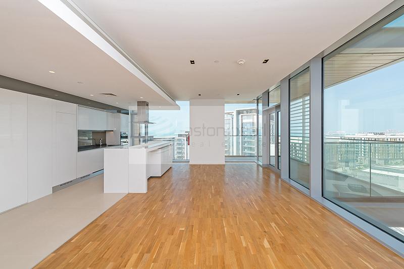 3 BR+M, 01 Type,  Dubai Eye View, High floor