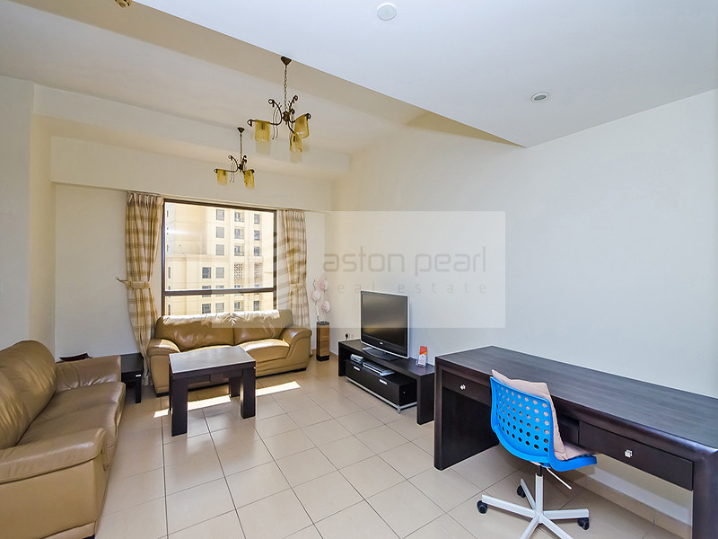 Fully Furnished 2 Br Apt. with Marina View