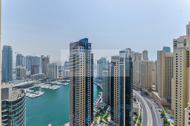 Centrally Located 2 BR, Full Marina view