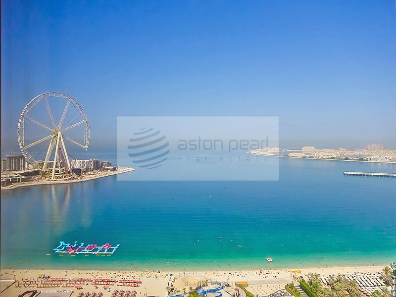 Dubai Eye View | Huge 3 BR + Maid | RIMAL 3
