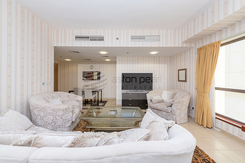 Direct Sea and Beach Views   Vacant 2BR in Shams