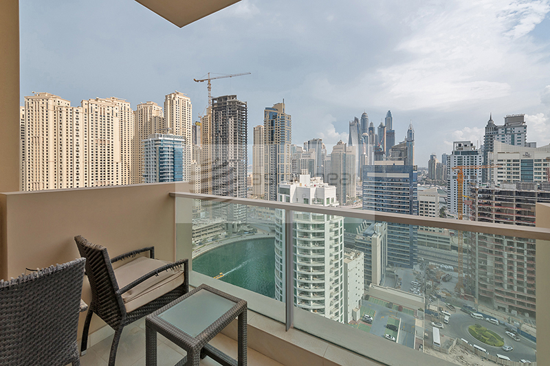 Exclusive 1BR Marina Mall Hotel Apartment