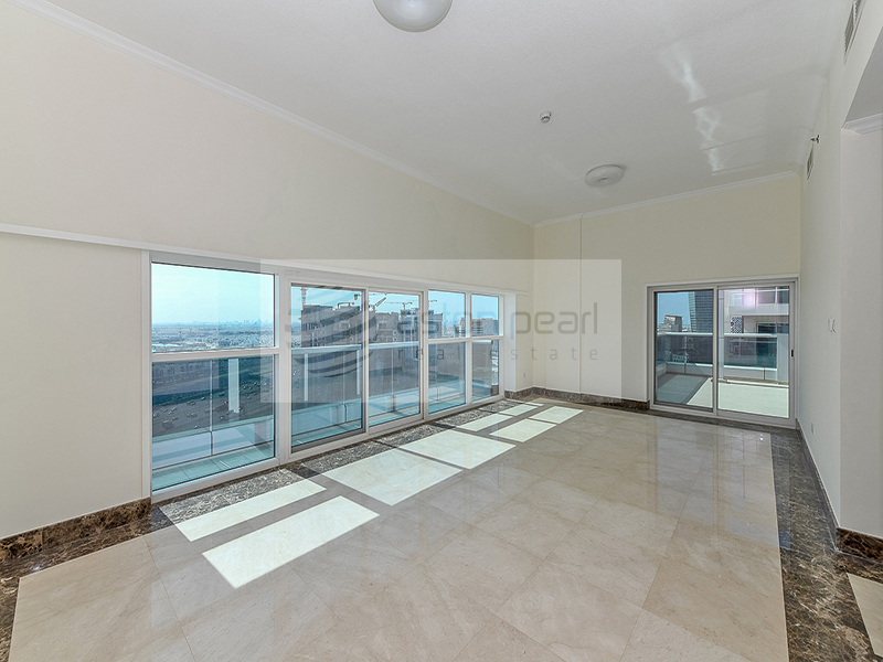 Spacious 2BR+Maid's with 2 Private Terraces