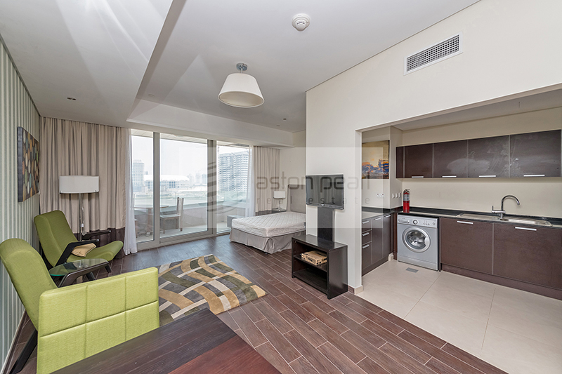 Beautiful Studio | Fully Furnished | Canal View