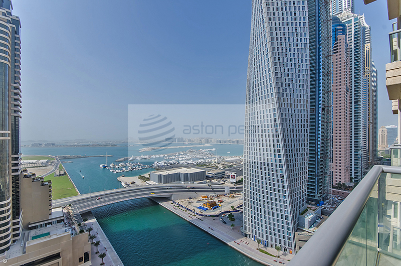 Vacant Now | 2 BR with 2 Balconies | Full Sea View