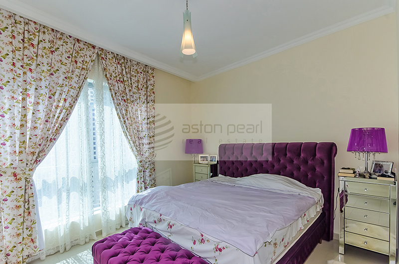 Ready Furnished, 3 Br+Maid with Full Marina view