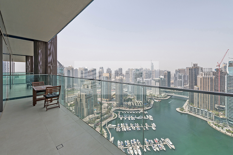 High Floor | Spacious 1BR | Stunning Marina View
