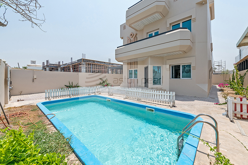 1 Mon. Free | 4BR+M | Private Pool and Garden