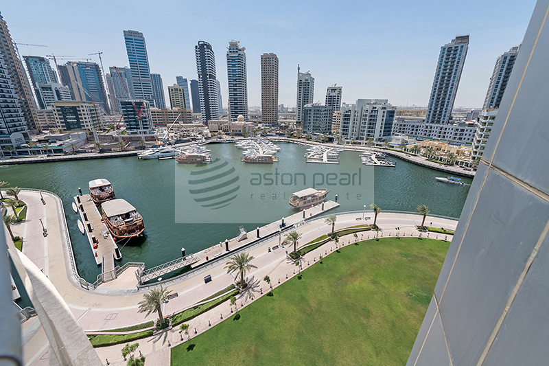 Luxury 3 BR+M | Full Marina View | Vacant Now