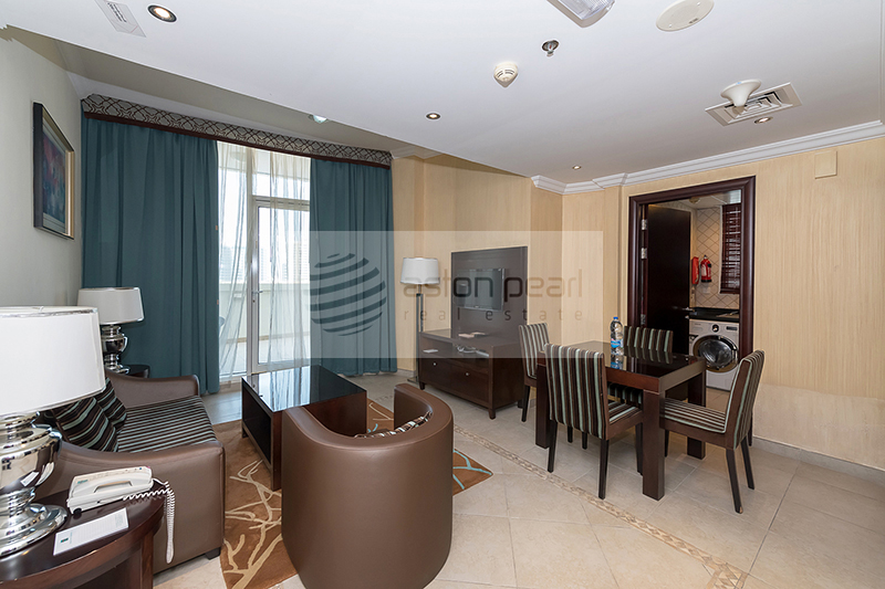 Fully Furnished | One Bedroom Suite Plus