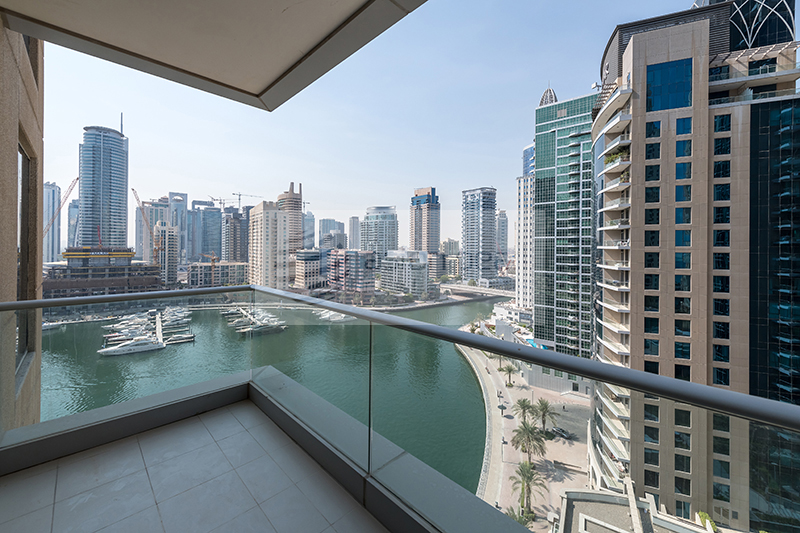 Full Marina View - 2 BR - Vacant - Mid Floor