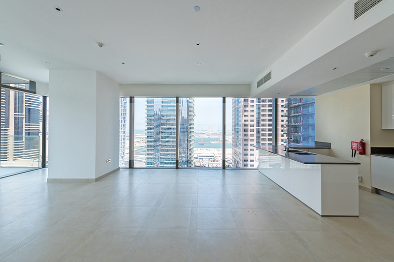 Super Luxury Apt. 3 BR, Full Marina View