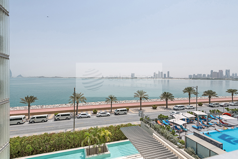 Furnished | 2 BR | Ready Title Deed | Sea View