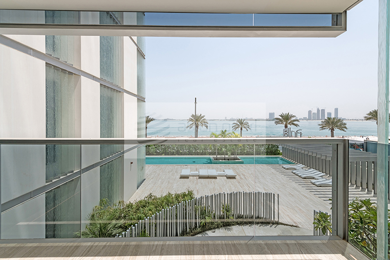Lovely 2BR| Furnished| Ready Title Deed| Sea View