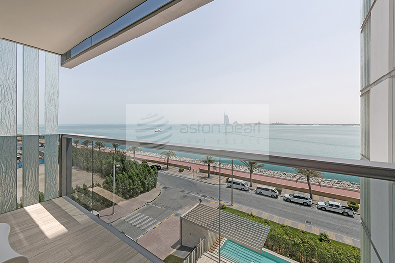 Brand New Furnished 2BR|Ready Title Deed|Sea View