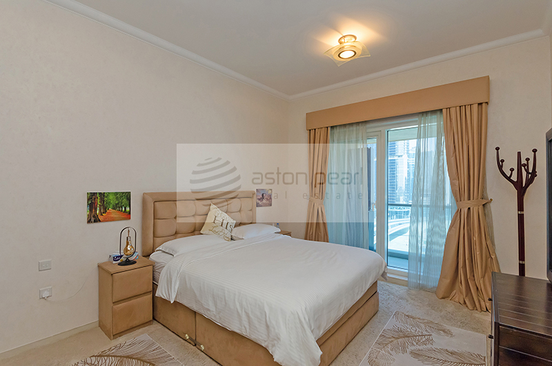 Canal and Burj Khalifa View,  Fully Furnished 1BR