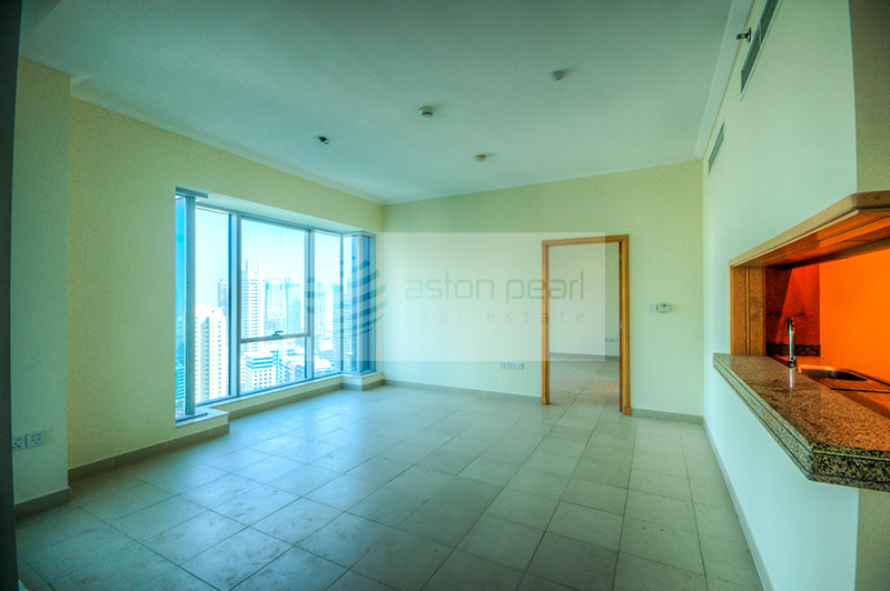 High Floor 3 BR + Maid's with Full Marina View