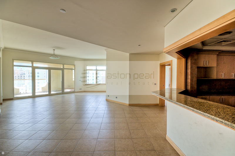 Burj and Sea views, High Floor, C Type, 3 Br+M