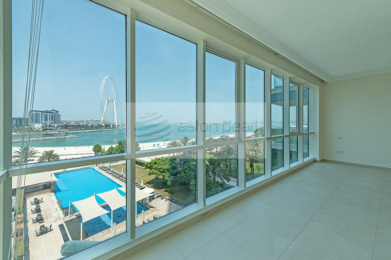 Ful Sea View | 2BR Low Floor | Vacant on Transfer