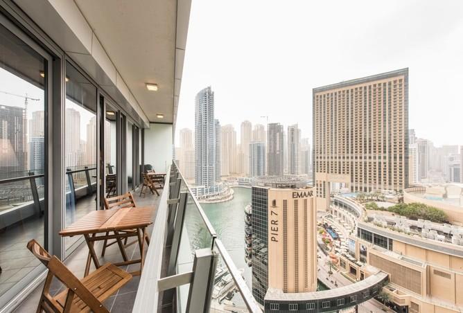 2BR with Balcony, Next to Marina Mall and Metro