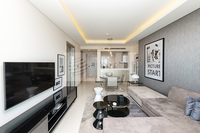 Brand New, Fully Furnished 2 BR, Paramount Towers