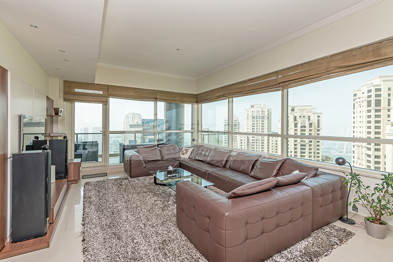 Marina View | Fully Furnished 3BR | Vacant Now