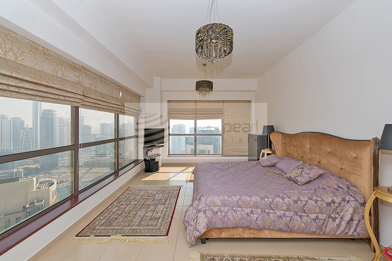 Beautiful, Fully Furnished 2BR, On High Floor