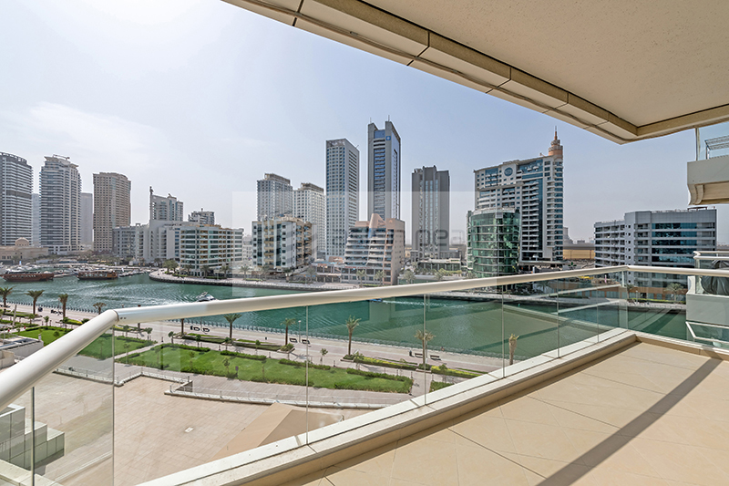 Fully Furnished, Full Marina View, 2 Parking