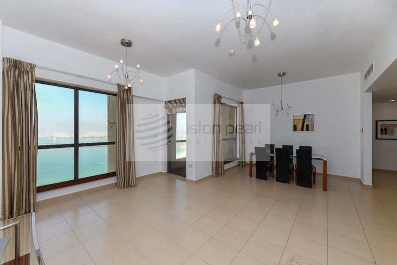 Full Sea and Dubai Eye View, 2BR Ensuite