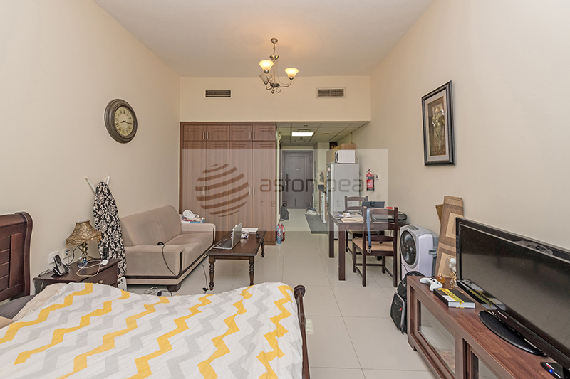 On High Floor, Furnished Studio, Lake Canal view