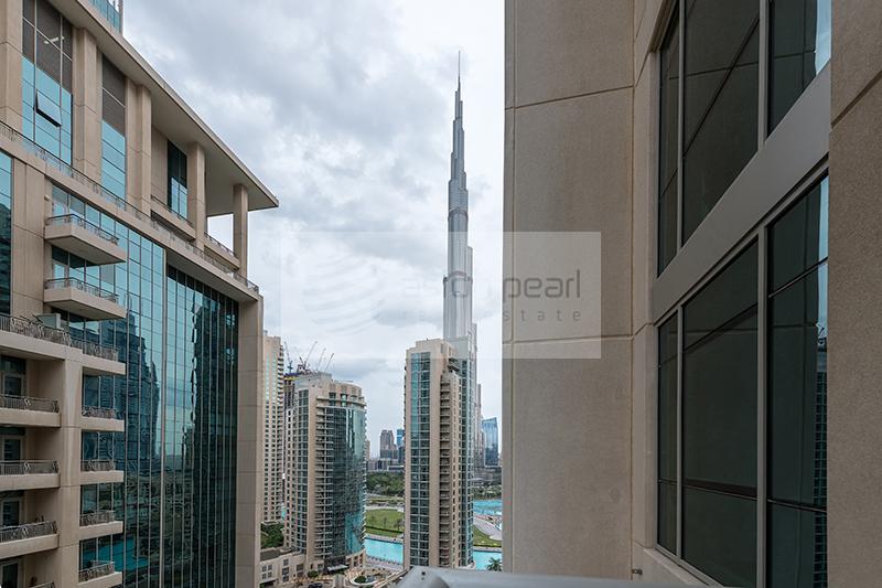 Chiller Free | 1BR | Vacant | Burj Khalifa View