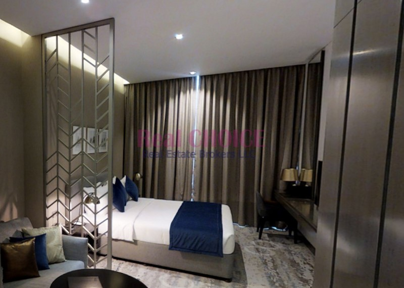 Fully Furnished Studio|Amazing Canal and Pool View