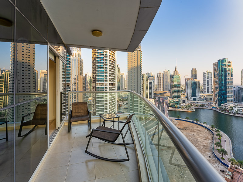 Sea and Marina View | Fully Furnished with Study