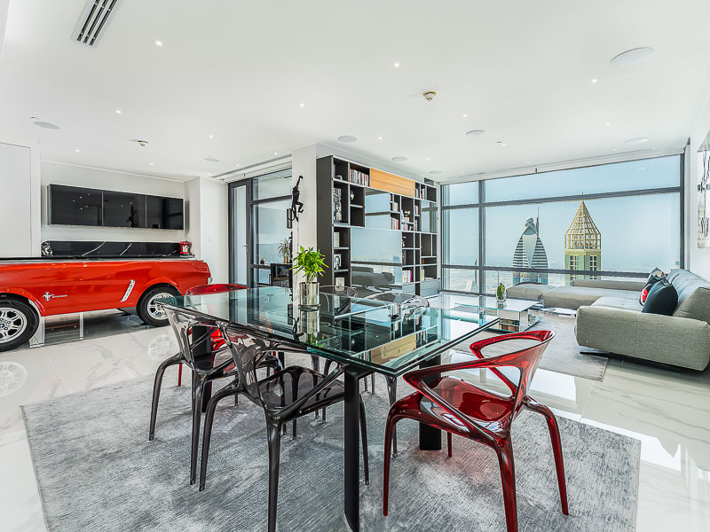 Fully Furnished|Beautiful Finishing |High Floor