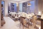 Spacious Bright,3BR+M,Stunning Burj View